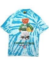 チャイナタウンマーケットCHINATOWNMARKETタイダイグラフィックTシャツSMILEYSKETCHBASKETBALLTEE-MULTI-メンズM-XLマルチカラー