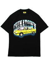 チャイナタウンマーケットCHINATOWNMARKETグラフィックTシャツLOWRIDERTEE-BLACK-メンズM-XLブラック/黒