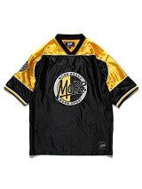 モブMOBBOGサークルロゴフットボールTシャツMOBBFOOTBALLT-SHIRT-BLACK-メンズレディース男女兼用M-XLブラック