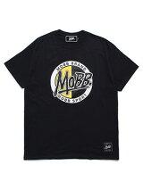 モブMOBBサークルロゴTシャツMOBBCIRCLELOGOT-SHIRT-BLACK-メンズM-XXLブラック