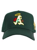 PHEITフェイトキャップグリーンスナップバックMLBカスタムロゴ刺繍帽子SBSDBAYAREA-GREEN-