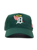 PHEITフェイトキャップグリーンスナップバックMLBカスタムロゴ刺繍帽子SBSDDETROIT-GREEN-