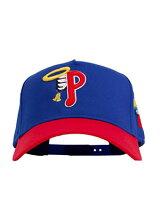 PHEITフェイトキャップブルースナップバックMLBカスタムロゴ刺繍帽子SBSDPHILLY-BLUE-