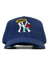 PHEITフェイトキャップネイビースナップバックMLBカスタムロゴ刺繍帽子SBSDNEWYORK-NAVY-