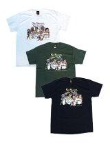 ラップアタックRAPATTACKグラフィックTシャツFUCKIN'JAY×RAPATTACKSOSWEETSOTIGHTTEE-3.COLOR-メンズM-XXLサイズブラック/ホワイト/グリーン