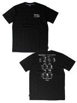 ストリートエックスStreetXプリントTシャツBARKSDALEORGANISATIONSHORTSLEEVETEE-BLACK-メンズM-XLブラック