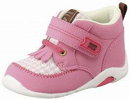 【Carrot】キャロットB60ピンク2E【ベビー靴】【子供靴】【フリンジブーツ】