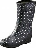 【レインブーツ】HN-L015RブラックD2E【長靴】【軽量設計】【インヒール中敷】