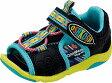 【OSHKOSH】オシュコシュB369ブラック【サンダル】【ベビー靴】【子供靴】【サマーシューズ】【ネイティブ柄】【アウトドア】