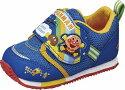 【それいけ!アンパンマン】APMーB16ブルー2E【ベビー靴】【子供靴】【洗えるインソール】【軽量設計】【カレーパンマン】【バイキンマン】