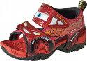 【カーズ】DN-C1195レッド【子供靴】【サンダル】【サマーシューズ】【マックイーン】