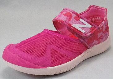 【new balance】KA208PKYピンク【子供靴】【サマーシューズ】【アクア】【アウトドアモデル】【ハーフサイズ】【キッズ専用ラスト】【なみなみインソール】