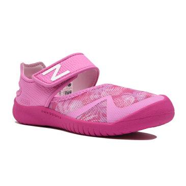 【new balance】YO208PNKトロピカルピンク【子供靴】【サマーシューズ】【アクア】【アウトドアモデル】【キッズ専用ラスト】【ハーフサイズ】【キッズ専用ラスト】【なみなみインソール】