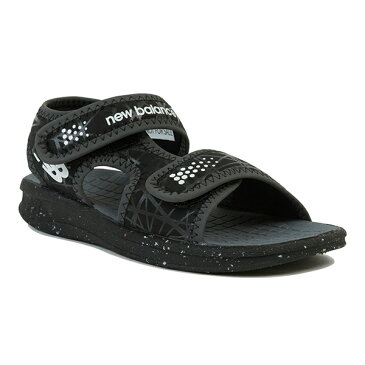 【new balance】K2031BKWブラック【子供靴】【サマーシューズ】【サンダル】【キッズ専用ラスト】【BLACK】