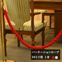 [15日限定!10%OFFクーポンあり]日本製パーテーション ロープ 30ミリ径 [1本] 間仕切り 仕切り