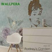 壁紙クロス輸入壁紙不織布WALLPERA[2060-001Audrey'sGarden]オードリーズガーデン《即納可》