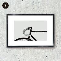 【フレーム付きアートポスターA4MONOCHROME】モノトーンモノクロ白黒ポスターアートポスターアートパネルアートフレームモダンシンプルシック額付き送料無料