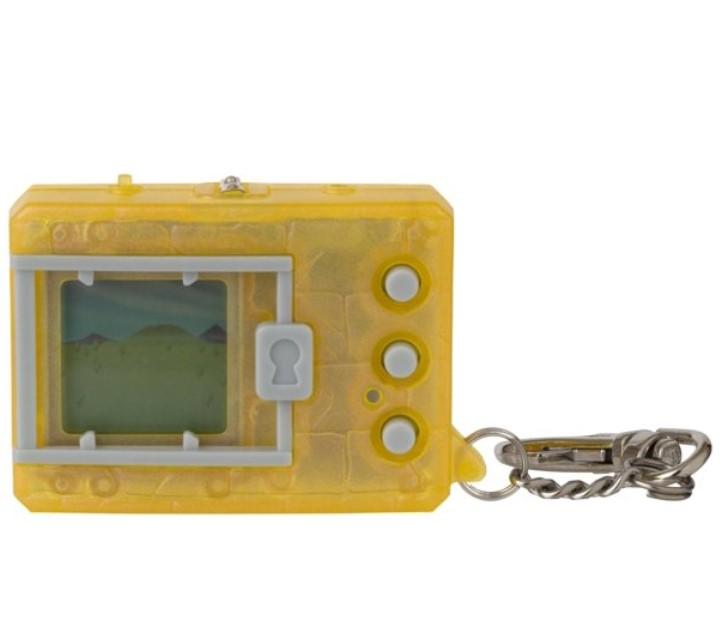 電子玩具・キッズ家電, 電子ペット  Bandai Original Digimon Digivice Virtual Pet Translucent Yellow