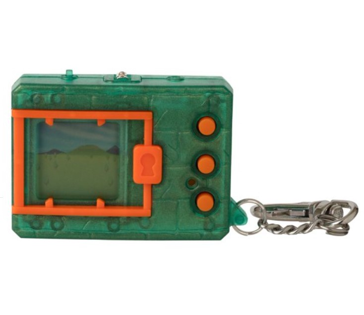 電子玩具・キッズ家電, 電子ペット  Bandai Original Digimon Digivice Virtual Pet Translucent Green