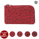 印伝 小銭入れ 財布 印傳屋 1001 赤×白 レディース 和柄 コインケース