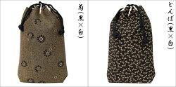 印傳屋印伝合切袋(巾着信玄袋)3005和柄(和風/和/和小物/和物)メンズ(男性用)バッグ送料無料送料込