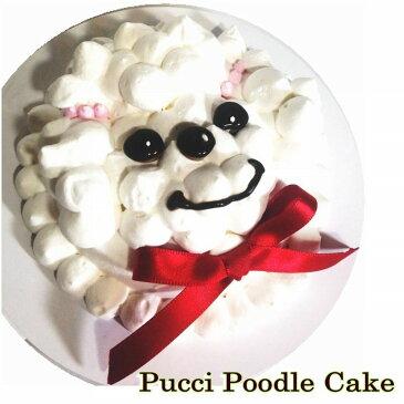 犬用 の ケーキ バースデーケーキ プチプードル 3号サイズ 直径10cm大 小型犬にぴったり 人気の 食べ切りサイズ 誕生日ケーキで お祝い 無添加 馬肉と寒天生地 低カロリー ギフト 贈り物 プレゼント アレルギー対応 6000円以上送料無料 ワンバナ