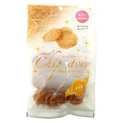 [無添加・無着色]Chip story[チップストーリー]国産鶏ささみチップ(チーズ)60g