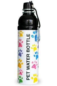 ペットとのお出かけに便利。ステンレスで丈夫。ペット用水筒[お散歩に最適]ペットウォーター...