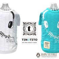TINOTITOヘッドフォンTシャツM・L