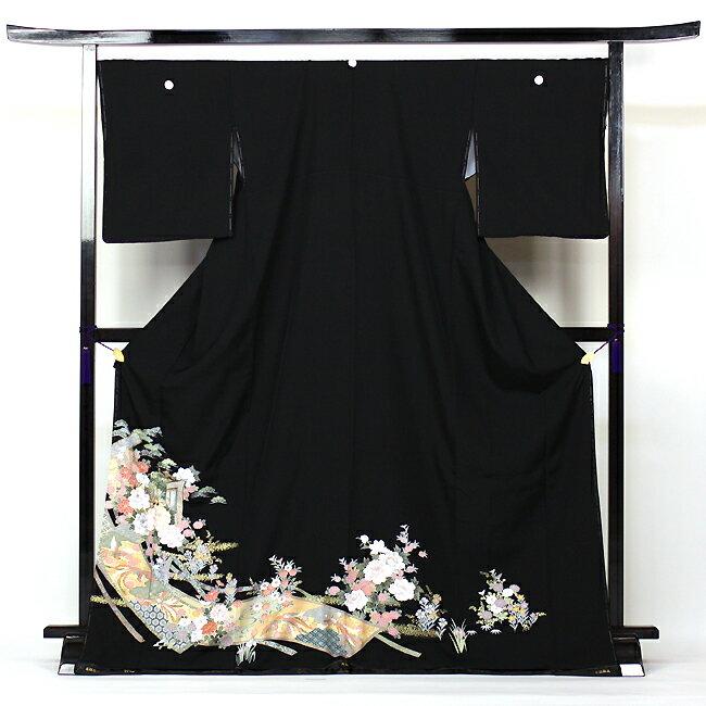 【最大1500円OFFクーポン】【レンタル】 留袖 レンタル 着物 黒留 黒留袖 19点フルコーディネートセット 結婚式