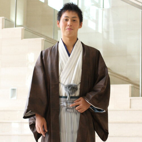 【レンタル】 男物羽織袴レンタル14点フルセット 成人式 卒業式 結婚式