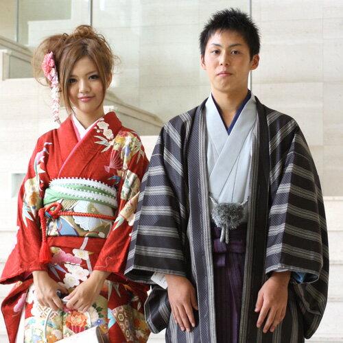 【レンタル】 袴 男物羽織袴レンタル14点フルセット 成人式 卒業式 結婚式