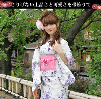 """Belt ornament """"made in Japan flower motifs two-color your belt ties ornament' yukata this weekend wearing sash clamp"""