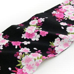 着付け簡単作り帯浴衣3点セット「生成り地に紫系ぼかしバラと濃紫の小花」【5月中旬より順次発送】