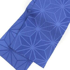 浴衣セットレディースレトロ高級変わり織り綿浴衣3点セット「生成り地に水色の大柄丸菊」浴衣水色クリーム菊