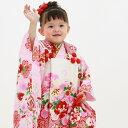 七五三 着物 三歳 正絹 選べる全9柄 高級正絹被布セット ...