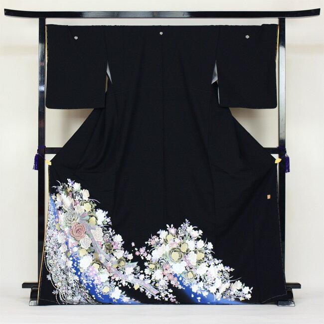 【レンタル】 留袖 レンタル 黒留袖 桂由美 レンタル 19点フルコーディネートセット 結婚式