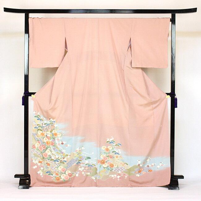 【期間限定クーポン】【レンタル】 色留袖 レンタル 結婚式 「和なでしこ」 色留袖 19点フルコーディネートセット rental 着物 kimono 留め袖〔消費税込み〕