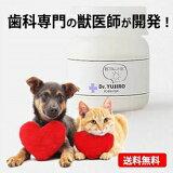 犬猫【歯磨き・歯石とり・歯垢】対策をサポート Dr.YUJIRO デンタルパウダー(朝用)(※約3カ月分) 5000頭以上の犬の歯石除去(歯石取り)を行ってきた獣医師が開発。