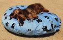 ラウンドベッド中身&カバーセット(M)・小型犬・猫用サイズ【犬 猫 Dog Cat ベッド ふわふわ 安眠】【小型・中型犬用ベッド】【…