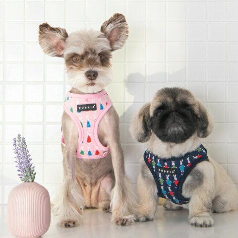 PUPPIA 2021春夏コレクション XLサイズ 小型犬用ハーネス犬服 韓国 MIFFY柄 Miffy 韓国ブランドパピア