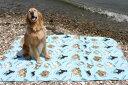 【防水シート】オリジナル・ラリシー(M)140×150cm【防水マット】 【犬グッズ 犬雑貨 ペット 旅行用品 ドライブ用品】【マナーシート…