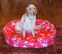 XLサイズ替えカバーオーソペディックカドラー専用日本製 アロハ柄 オリジナル柄大型犬 中型犬 老犬 その1