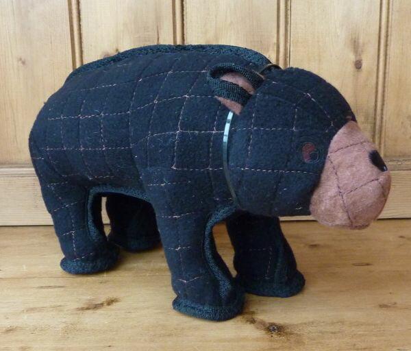 強度に注目水に浮くおもちゃのタフィー(Tuffy)シャイな熊破壊 くま 強度 丈夫 レトリーブ クマ