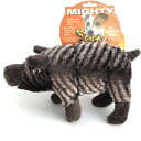 正規品しなやかな形状のMIGHTY マイティーウリボウのハビエル(ジュニア)丈夫なうりぼう 小型犬〜中型犬用おもちゃ ワンちゃんへプレゼント 1
