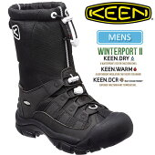 ・キーンKEENウィンターポート2スノーブーツ[ムーンレスナイト]KEENWINTERPORTIIメンズ(男性用)【靴】_11611F(wannado)