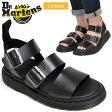 ドクターマーチン Dr.Martens ショアー グリフォン ストラップサンダル[ブラック](15695001)SHORE GRYPHON STRAP SANDAL ユニセックス(男女兼用)【靴】_11705E(wannado)