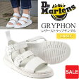 ドクターマーチン Dr.Martens ショアー グリフォン ストラップサンダル[ホワイト](16821100)SHORE GRYPHON STRAP SANDAL ユニセックス(男女兼用)【靴】_11605E(wannado)
