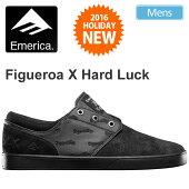 ・エメリカEMERICAフィゲロア×ハードラック[ブラック/ブラック]THEFIGUEROA×HARDLUCKメンズ(男性用)【靴】_11612F(wannado)