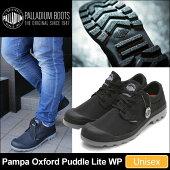 パラディウムPALLADIUMパンパオックスフォードパドルライトウォータープルーフ[ブラック/メタル](75427-068)PAMPAOXFORDPUDDLELITEWPユニセックス(男女兼用)【靴】_11703E(wannado)